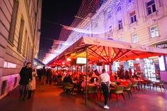 Advenimiento en Zagreb, Croacia 2016 Foto de archivo