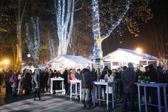 Advenimiento en Zagreb, Croacia 2016 Fotografía de archivo libre de regalías