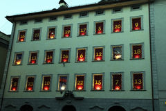 Advent in bolzano Royalty Free Stock Photos