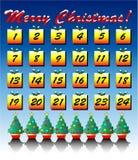 Advent calendar stock illustration
