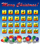 Advent calendar Royalty Free Stock Image