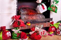 Advent calendar Stock Photography