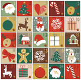 Advent calendar stock illustration