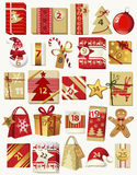 Advent calendar Stock Photos