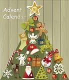 Advent calendar Royalty Free Stock Photos