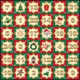 Advent calendar Stock Images