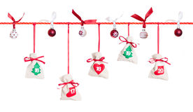 Advent calendar (4/5) Stock Images