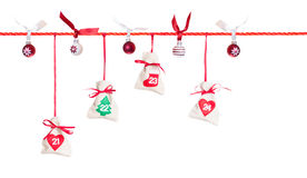 Advent calendar (5/5) Royalty Free Stock Image