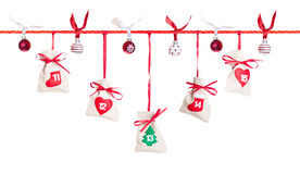 Advent calendar (3/5) Stock Photography