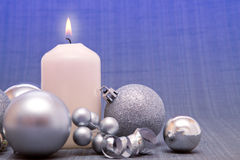 Advent Candle . Stock Photography