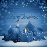 Advent Candle Imagens de Stock Royalty Free