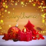 Advent Candle Lizenzfreie Stockfotos