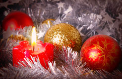 Advent Candle Fotos de archivo