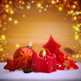 Advent Candle . Stock Images