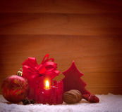 Advent candle. Stock Photography