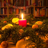 Advent candle Stock Photos