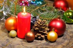 Advent Candles Stockbilder