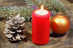 Advent Candles Lizenzfreies Stockbild