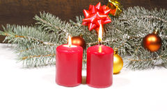 Advent Candles Stockfotografie