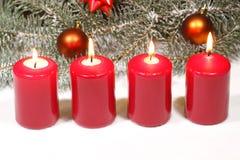 Advent Candles Lizenzfreie Stockfotografie