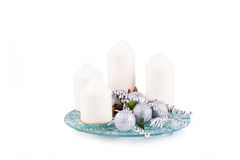 Advent Candles Lizenzfreies Stockbild