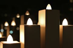 Advent candles Stock Photo