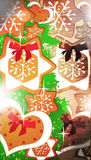 Advent or christmas background Stock Image