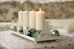 Advent christmas decoration Stock Photo