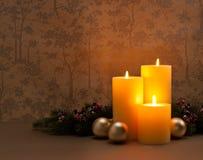 Advent Christmas-kroon Royalty-vrije Stock Afbeeldingen