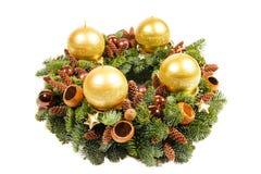 Advent Christmas-kroon Royalty-vrije Stock Afbeelding