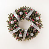 Advent Christmas wreath Royalty Free Stock Photo
