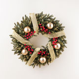 Advent Christmas wreath Royalty Free Stock Photos