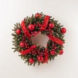 Advent Christmas wreath Stock Photography
