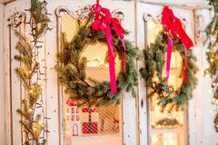Advent Christmas wreath Royalty Free Stock Photography