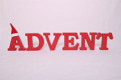 Advent contain letters Stock Photo