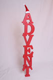Advent contain letters Stock Image