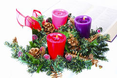 Advent Crown Imagem de Stock