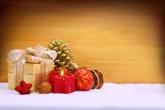 Advent Decoration Imagen de archivo libre de regalías