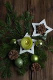 Advent Decoration Stockbild
