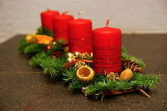 Advent Decoration Fotografía de archivo