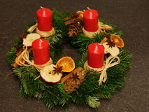 Advent Decoration Imagenes de archivo