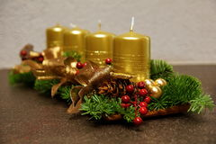 Advent Decoration Lizenzfreies Stockbild