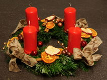 Advent Decoration Fotos de archivo