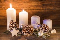 Advent Decoration Stockfoto