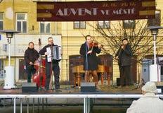Advent i staden 2015 Arkivfoto
