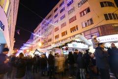 Advent i Zagreb Royaltyfria Foton