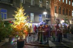 Advent i Zagreb Royaltyfri Fotografi