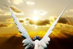 Advent's angel stock image