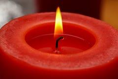 Advent Season, quattro candele di bruciatura Fotografia Stock