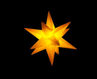 Advent star Royalty Free Stock Photo